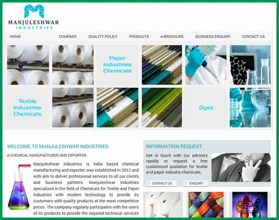 Manjuleshwar Industries industrial chemicals and dyes